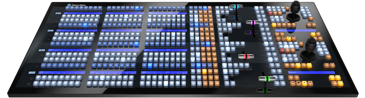 NewTek IP Series 4-Stripe Control Panel